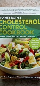 Cholesterol control Cook book
